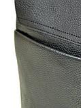 Шкіряна чоловіча сумка через плече / Мужская кожаная сумка через плечо DR. BOND 204-2, фото 3
