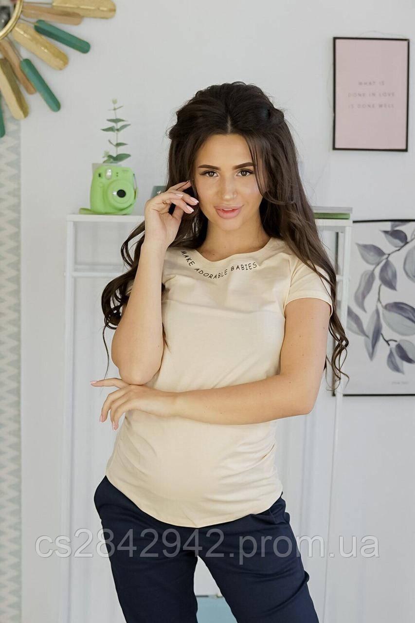 Футболка  для вагітних (футболка для беременных) 2900000355262