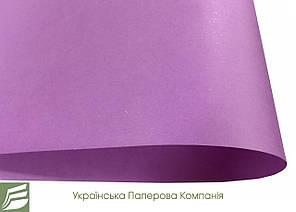 Дизайнерський папір Hyacinth Star Rain, гладка, фіолетова, 120 гр/м2