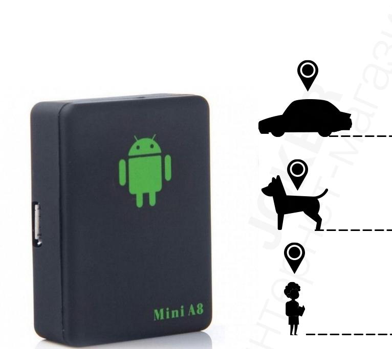 GPS-трекер Mini A8 Original Gsm сигнализация