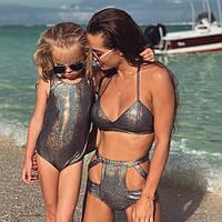 Детский купальник голограмма