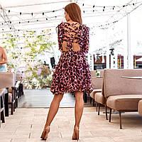 Женское платье с открытой спиной, фото 1