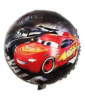 Гелиевый шар фольга 45см Тачки DSN104