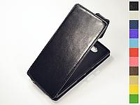 Откидной чехол из натуральной кожи для Sony Xperia 10 (Xperia XA3)