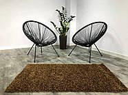 Ковер ШЕГИ коричневый 80x140 см, фото 2