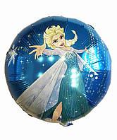 Гелиевый шар фольга 45см Холодное сердце DSN159
