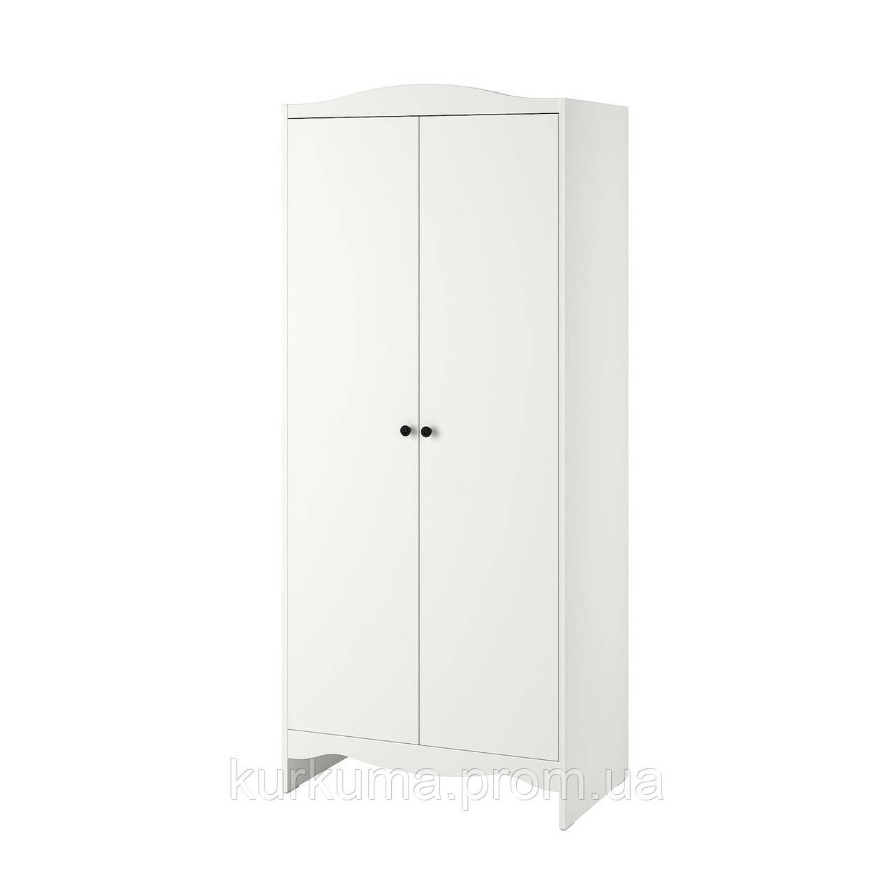 IKEA SMAGORA Шкаф, белый, 80x50x187 см (104.608.88)