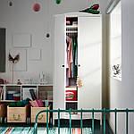 IKEA SMAGORA Шкаф, белый, 80x50x187 см (104.608.88), фото 3