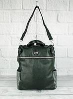 Рюкзак женский зеленый с камнями Velina Fabbiano 571183-1, фото 1