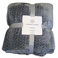 Плед Colorful Home Classic fashion, серый 200х220см.