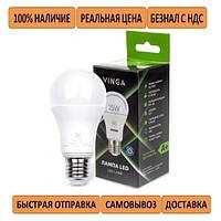 ЯРКАЯ Лампочка Vinga VL-A60E27-154L-HLE LED 15W 220V цоколь E27 (эквивалент 170Вт)