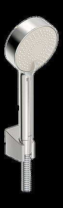 534 Apollo душовий комплект з 3-х режимною лійкою EcoFlow,шланг,тримач, фото 2