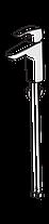 1011F Oras SAFIRA Змішувач для умивальника XL без дк, фото 2