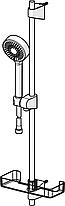 544 Apollo душовий комплект з 3-х режимною лійкою EcoFlow,штанга,мильниця, фото 2