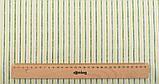 Яркий набор зеленой ткани - 7 отрезов 40*50 см, фото 5