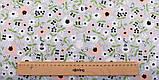 Яркий набор зеленой ткани - 7 отрезов 40*50 см, фото 8