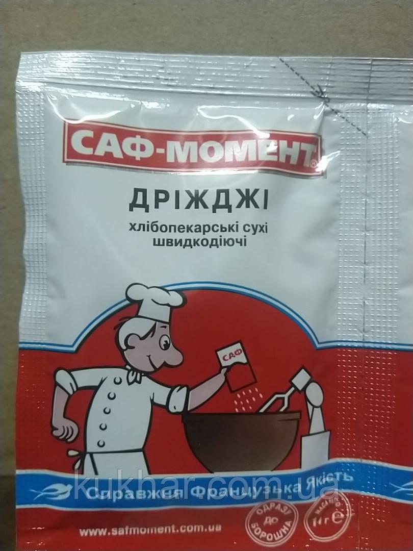 Дріжджі сухі хлібопекарські Саф-момент 11г
