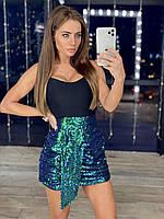 Женская юбка с пайетками, фото 1