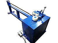 Настройка дорна для работы с тонкостенной трубой на дорновом трубогибе.