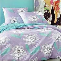 Комплект постельного белья Евро. Сатин. Elway 5044 Lace Flower