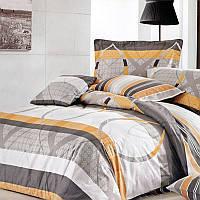Комплект постельного белья Евро. Сатин Elway 5034 Eternity