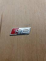 На руль, эмблема,вставка,логотип,шильда,  RS.