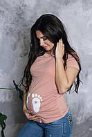Футболка  для вагітних (футболка для беременных) 2900000356382, фото 1