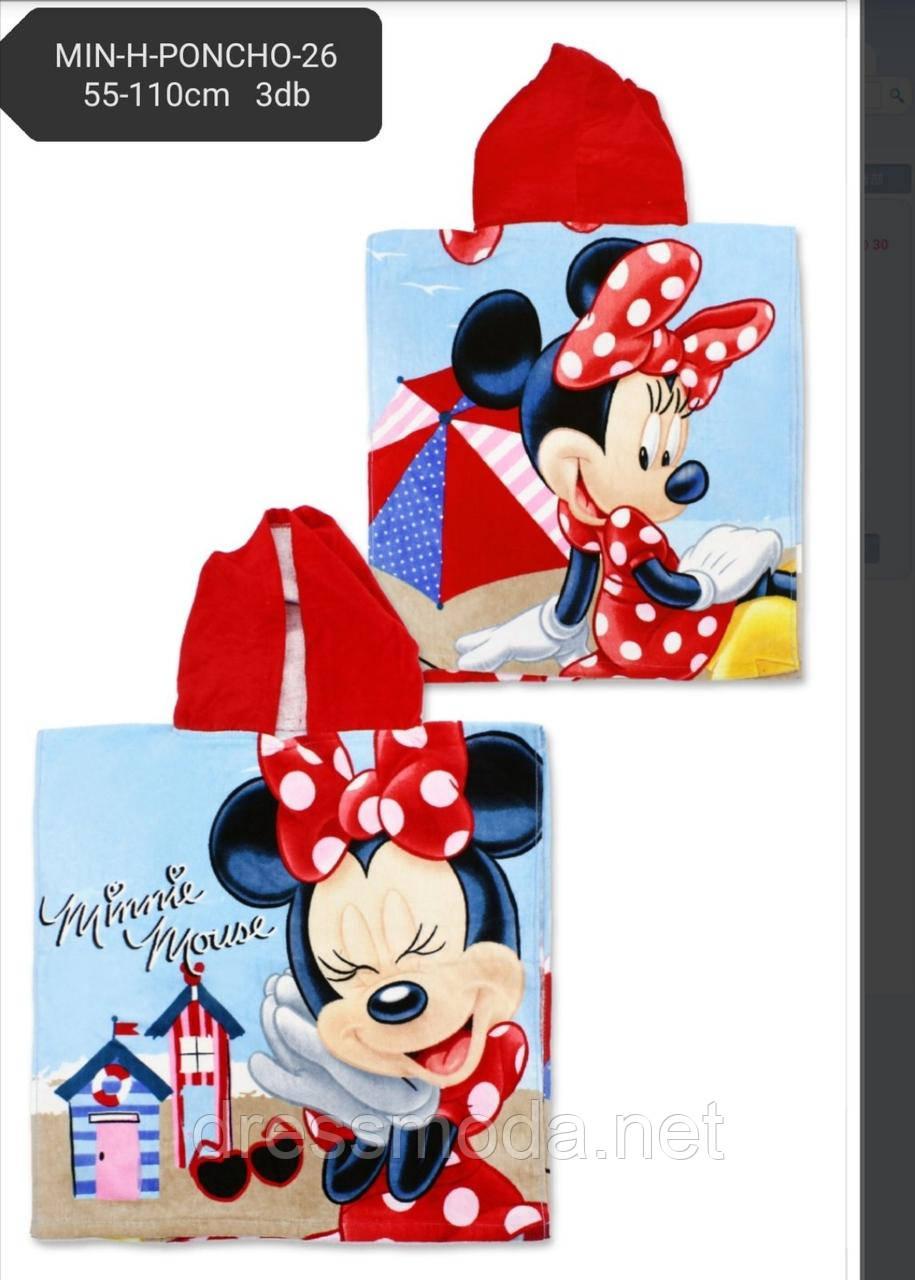 Полотенце-пончо для девочек  Minnie