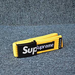 Ремінь Supreme Yellow