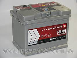Акумулятор FIAMM TITANIUM PRO L2 60P