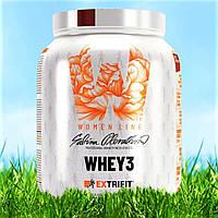 Extrifit Women line Whey 3 2000g сывороточный протеин изолят для девушек и женщин заменитель питания похудение
