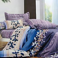 Комплект постельного белья Евро. Сатин Elway 4034