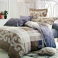 Комплект постельного белья Евро. Сатин Elway 4002