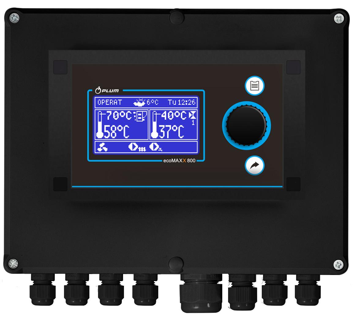 Автоматика для пелетної пальника PLUM ecoMAX STANDART 850