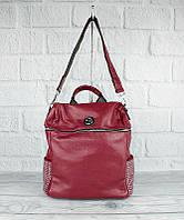 Рюкзак женский бордовый с камнями Velina Fabbiano 571183-1