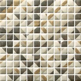 Мозаїка Paradyz Enya Grafit MIX PRASOWANA 29,8x29,8