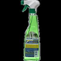 Средство для мытья стекол с распылителем Buroclean 500 мл зеленое яблоко