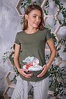 Футболка  для вагітних (футболка для беременных) 2900000330702, фото 1