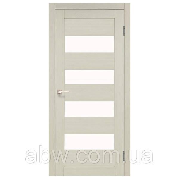 Межкомнатная дверь Korfad PND-02 беленый дуб