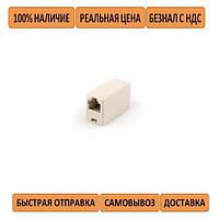 Сращиватель Vinga COUP6P4C RJ11 (соединитель телефонного кабеля RJ11)