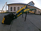 Погрузчик на трактор МТЗ, ЮМЗ, Т 40 - Dellif Strong 1800 с ковшом 1.8 м, фото 8