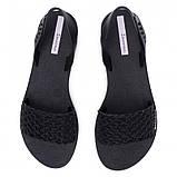 Женские сандалии босоножки Ipanema Breezy Sandal Fem 82855-20766, чёрные, оригинал, Бразилия, фото 5
