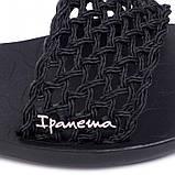 Женские сандалии босоножки Ipanema Breezy Sandal Fem 82855-20766, чёрные, оригинал, Бразилия, фото 6