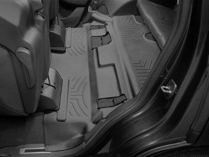 Ковры резиновые WeatherTech Cadillac Escalade 2015+  третий ряд черный