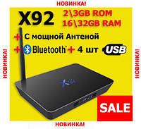 Android TV Box EnyBox X92 смарт тв приставка на андроид 2\16