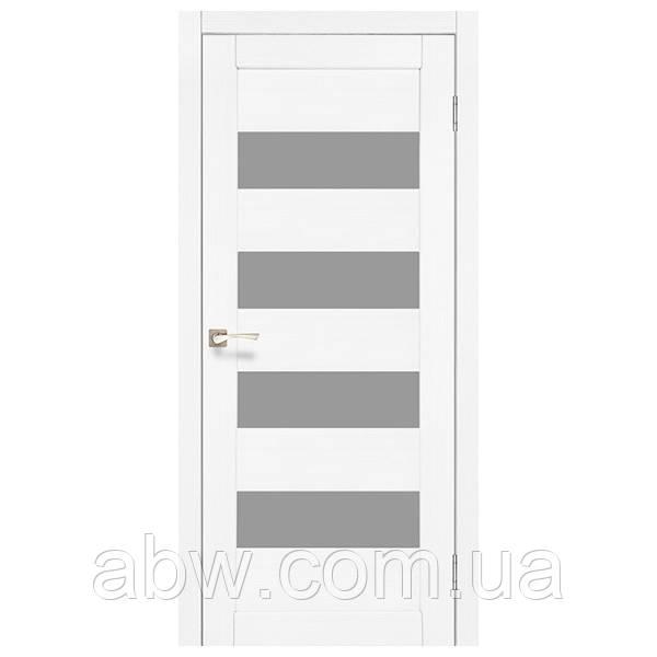Межкомнатная дверь Korfad PND-02 белый ясень
