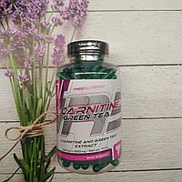 Trec Nutrition L-Carnitine + Green Tea 180 caps 650 mg, л Карнитин зелёный чай