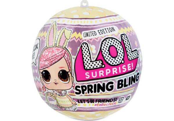 LOL Surprise Spring bling Лялечка ( Кукла ЛОЛ Весенний сюрприз, Пасхальный выпуск )