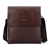 Мужская сумка через плечо Polo Videng Leather / Кожаная мужская Поло