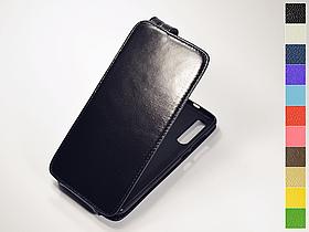 Откидной чехол из натуральной кожи для Xiaomi Mi 9 / Mi 9 Explorer Edition